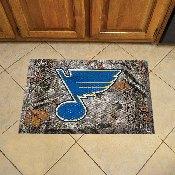 NFL St Louis Blues Scraper Mat 19x30