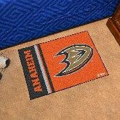 Anaheim Ducks Uniform Inspired Starter Rug 19x30