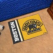 Boston Bruins Uniform Inspired Starter Rug 19x30