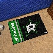 Dallas Stars Uniform Inspired Starter Rug 19x30
