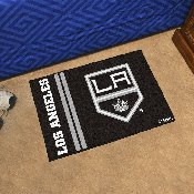 Los Angeles Kings Uniform Inspired Starter Rug 19x30