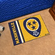 Nashville Predators Uniform Inspired Starter Rug 19x30
