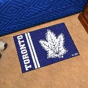 Toronto Maple Leafs Uniform Inspired Starter Rug 19x30