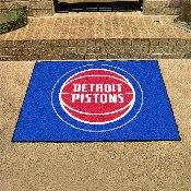 NBA - Detroit Pistons All-Star Mat 33.75x42.5