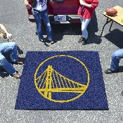 NBA - Golden State Warriors Tailgater Rug 5'x6'