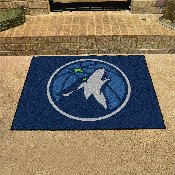 NBA - Minnesota Timberwolves All-Star Mat 33.75x42.5