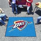 NBA - Oklahoma City Thunder Tailgater Rug 5'x6'