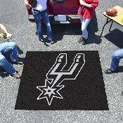 NBA - San Antonio Spurs Tailgater Rug 5'x6'