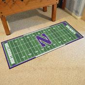 Northwestern University Runner 30x72