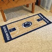 Penn State Basketball Court Runner 30x72