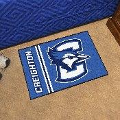 Creighton Uniform Starter Rug 19x30