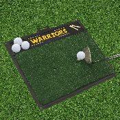 NBA - Golden State Warriors Golf Hitting Mat 20 x 17