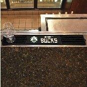 Milwaukee Bucks Drink Mat 3.25x24