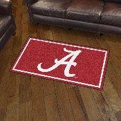 University of Alabama 3' x 5' Rug