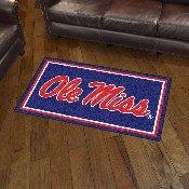 University of Mississippi (Ole Miss) 3' x 5' Rug