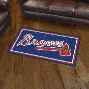 MLB - Atlanta Braves 3' x 5' Rug