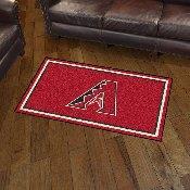 MLB - Arizona Diamondbacks 3' x 5' Rug