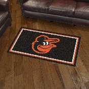 MLB - Baltimore Orioles 3' x 5' Rug