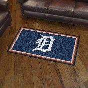 MLB - Detroit Tigers 3' x 5' Rug