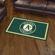 MLB - Oakland Athletics 3' x 5' Rug