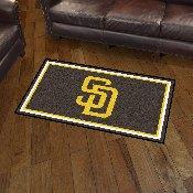 MLB - San Diego Padres 3' x 5' Rug
