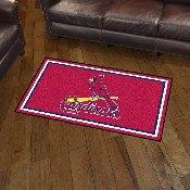 MLB - St. Louis Cardinals 3' x 5' Rug