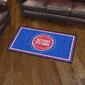 NBA - Detroit Pistons 3' x 5' Rug