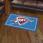 NBA - Oklahoma City Thunder 3' x 5' Rug