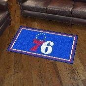 NBA - Philadelphia 76ers 3' x 5' Rug