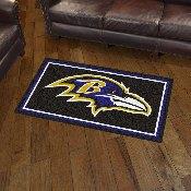 NFL - Baltimore Ravens 3' x 5' Rug