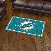NFL - Miami Dolphins 3' x 5' Rug