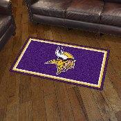 NFL - Minnesota Vikings 3' x 5' Rug