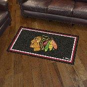 NHL - Chicago Blackhawks 3' x 5' Rug