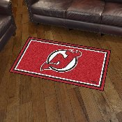 NHL - New Jersey Devils 3' x 5' Rug