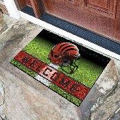 NFL - Cincinnati Bengals 18x30 Crumb RubberDoor Mat