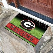 University of Georgia 18x30 Crumb RubberDoor Mat