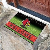 University of Louisville 18x30 Crumb RubberDoor Mat
