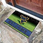 West Virginia University 18x30 Crumb Rubber Door Mat