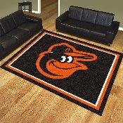 MLB - Baltimore Orioles Cartoon Bird 8'x10' Rug