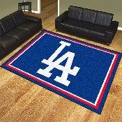 MLB - Los Angeles Dodgers LA Logo 8'x10' Rug