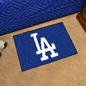 MLB - Los Angeles Dodgers 'LA' Starter Rug 19x30