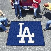 MLB - Los Angeles Dodgers 'LA' Tailgater Rug 5'x6'