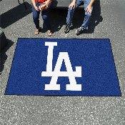 MLB - Los Angeles Dodgers 'LA' Ulti-Mat 5'x8'