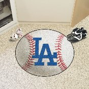 MLB - Los Angeles Dodgers 'LA' Baseball Mat 27 diameter