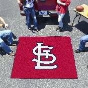 MLB - St. Louis Cardinals 'StL' Tailgater Rug 5'x6'