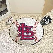 MLB - St. Louis Cardinals 'StL' Baseball Mat 27 diameter