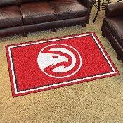 NBA - Atlanta Hawks 4'x6' Rug