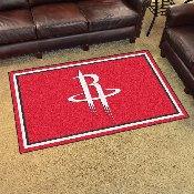 NBA - Houston Rockets 4'x6' Rug