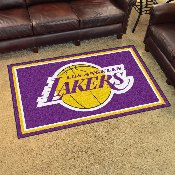 NBA - Los Angeles Lakers 4'x6' Rug