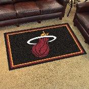 NBA - Miami Heat 4'x6' Rug